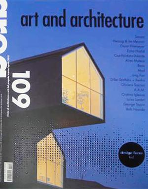 Area 109.Art and architecture